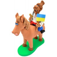 """Статуэтка """"Козак на коне"""""""
