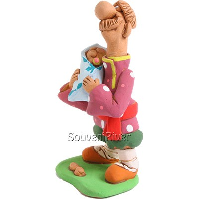 "Статуетка ""Мужик з немовлям"""