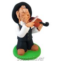 """Статуетка """"Клезмер скрипаль"""""""