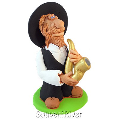 "Статуетка ""Клезмер саксофоніст"""