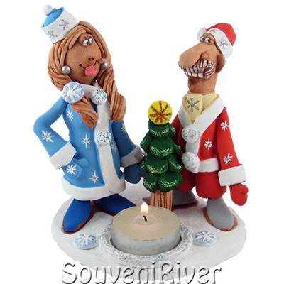 """Свічник """"Ніч перед Різдвом"""""""