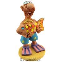 """Статуетка """"Золота рибка"""""""