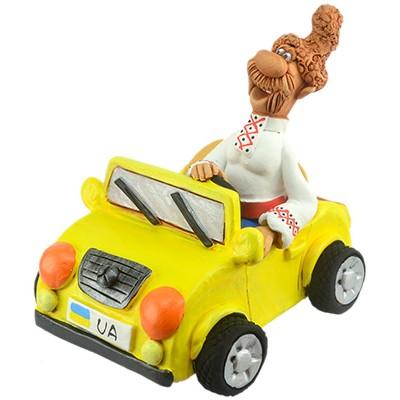 "Статуетка ""Козак на машині"""