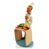 """Статуетка """"Шеф-кухар за столом"""""""