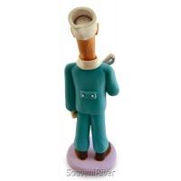 """Статуетка """"Стоматолог з щипцями (молодий)"""""""