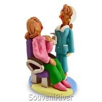 """Статуетка """"На прийомі в стоматолога в кабінеті №4"""""""