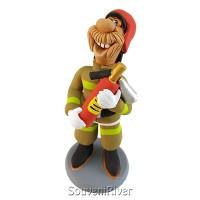 """Статуетка """"Пожежний з вогнегасником"""""""