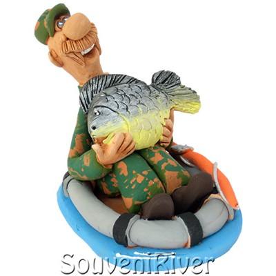 """Статуетка """"Рибалка на коропа"""""""