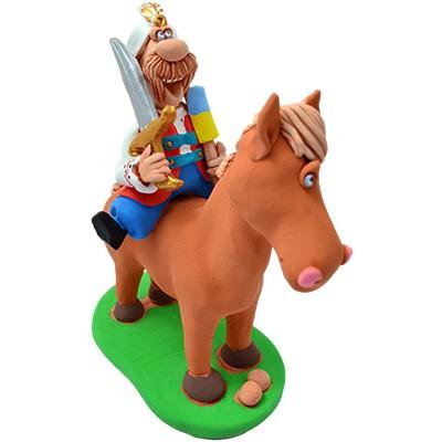 """Статуетка """"Гетьман на коні"""""""