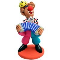 "Статуетка ""Клоун з гармошкою"""