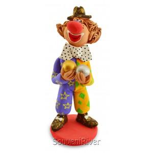 """Статуетка """"Клоун з кубиком"""""""