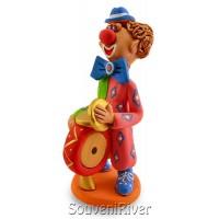 "Статуетка ""Клоун з барабаном"""