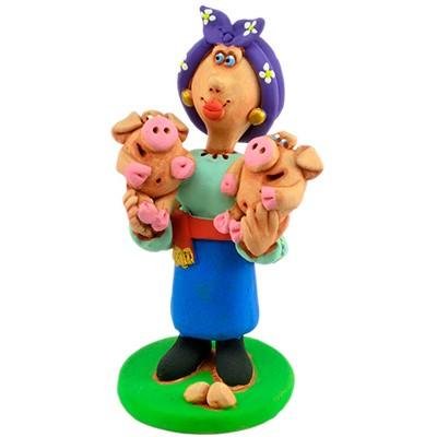 """Статуетка """"Свинки лапочки"""""""