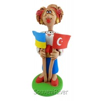 "Статуэтка ""Украина - Турция"""