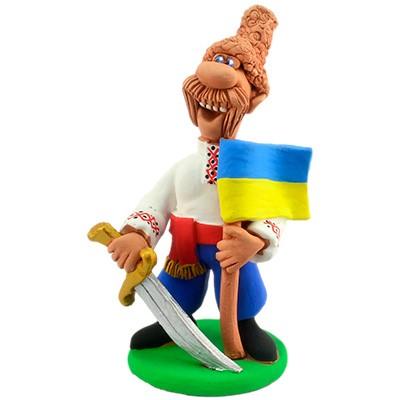 "Статуетка ""Український козак із шаблею"""