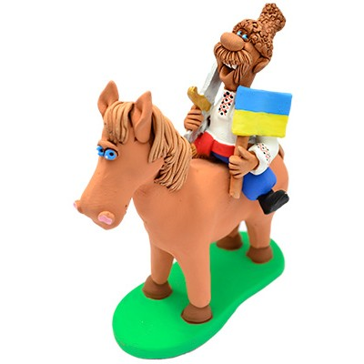 "Статуетка ""Козак на коні"""