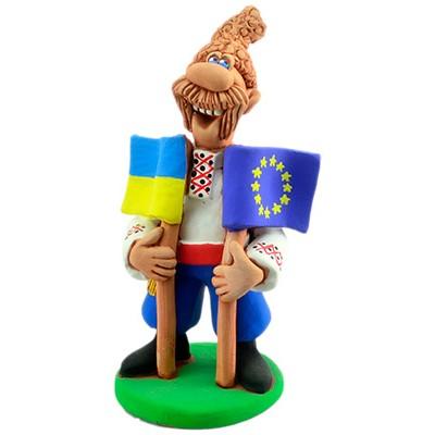"""Статуетка """"Україна - Євросоюз"""""""