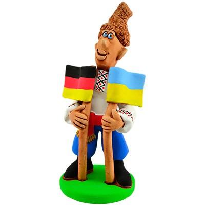 """Статуетка """"Україна - Німеччина"""""""