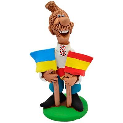 """Статуетка """"Україна - Іспанія"""""""