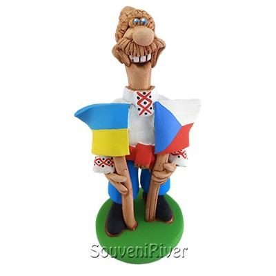"""Статуетка """"Україна - Чехія"""""""