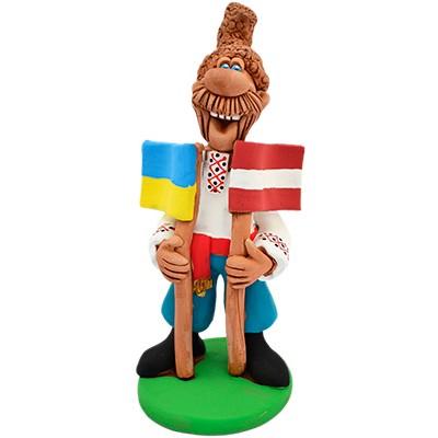 """Статуетка """"Україна - Латвія"""""""