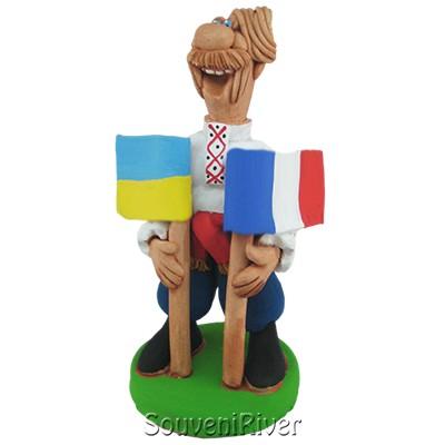 """Статуетка """"Україна - Франція"""""""