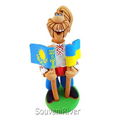 """Статуетка """"Україна - Казахстан """""""