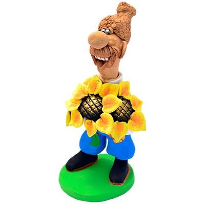 """Статуетка """"Букет соняшників"""""""