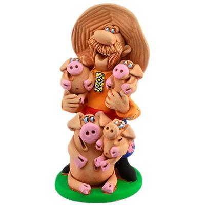 """Статуетка """"Дорогі мої свині"""""""