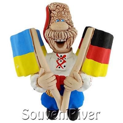 """Сувенірний магніт """"Україна - Німеччина"""""""
