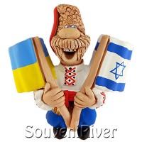 """Сувенірний магніт """"Україна - Ізраїль"""""""