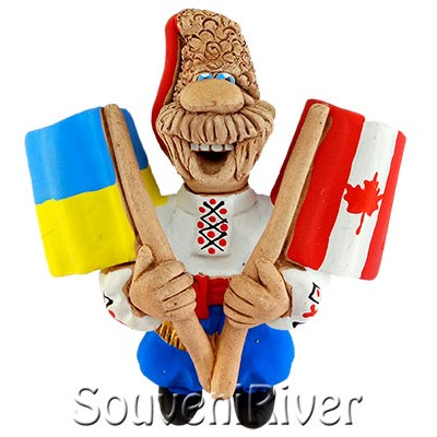 "Сувенірний магніт ""Україна - Канада"""