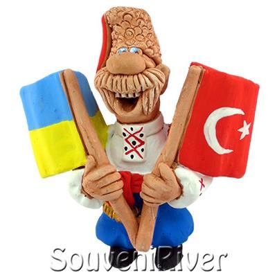 """Сувенірний магніт """"Україна - Туреччина"""""""