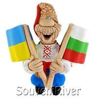 """Сувенірний магніт """"Україна - Болгарія"""""""