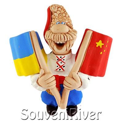 """Сувенірний магніт """"Україна - Китай"""""""