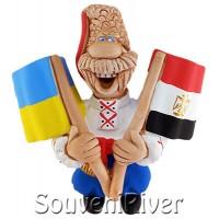 """Сувенірний магніт """"Україна -Єгипет"""""""