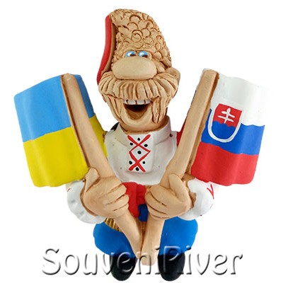 """Сувенірний магніт """"Україна -Словакия"""""""