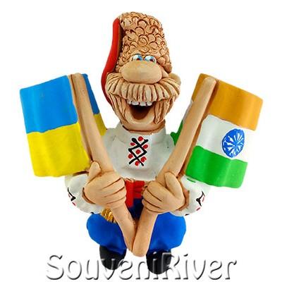 """Сувенірний магніт """"Україна -Індія"""""""