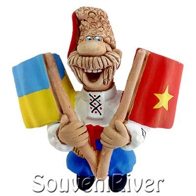 """Сувенірний магніт """"Україна -Португалія"""""""