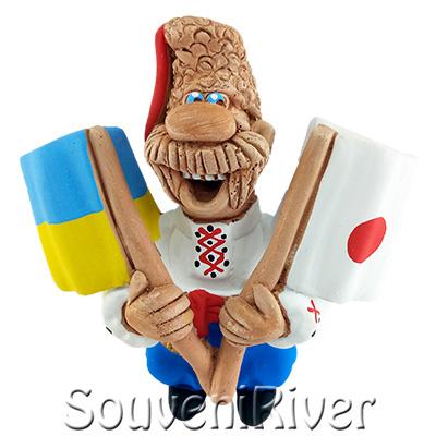 """Сувенірний магніт """"Україна -Японія """""""
