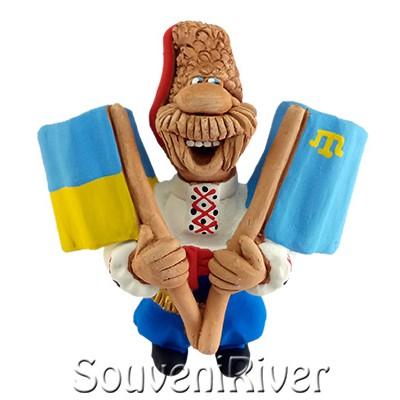 """Сувенірний магніт """"Україна -Кримські татари """""""