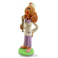 """Статуетка """"Медсестра зі шприцем"""""""