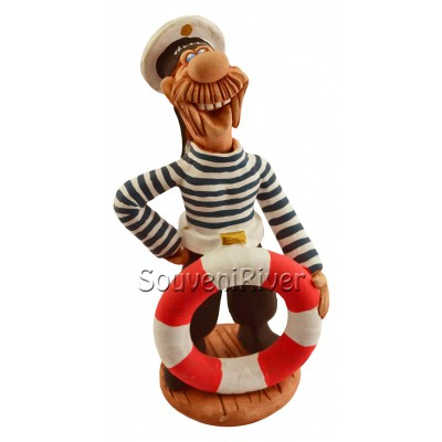 "Статуетка ""Моряк з рятувальним кругом"""