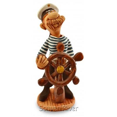 "Статуетка ""Моряк біля штурвала"""