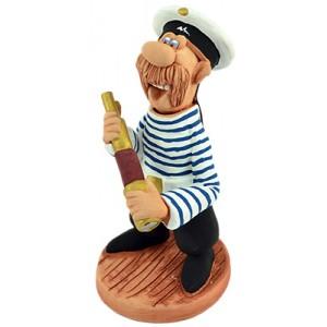 """Статуэтка """"Моряк с подзорной трубой"""""""