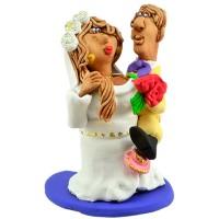 """Статуетка """"Пощастило з нареченою"""""""